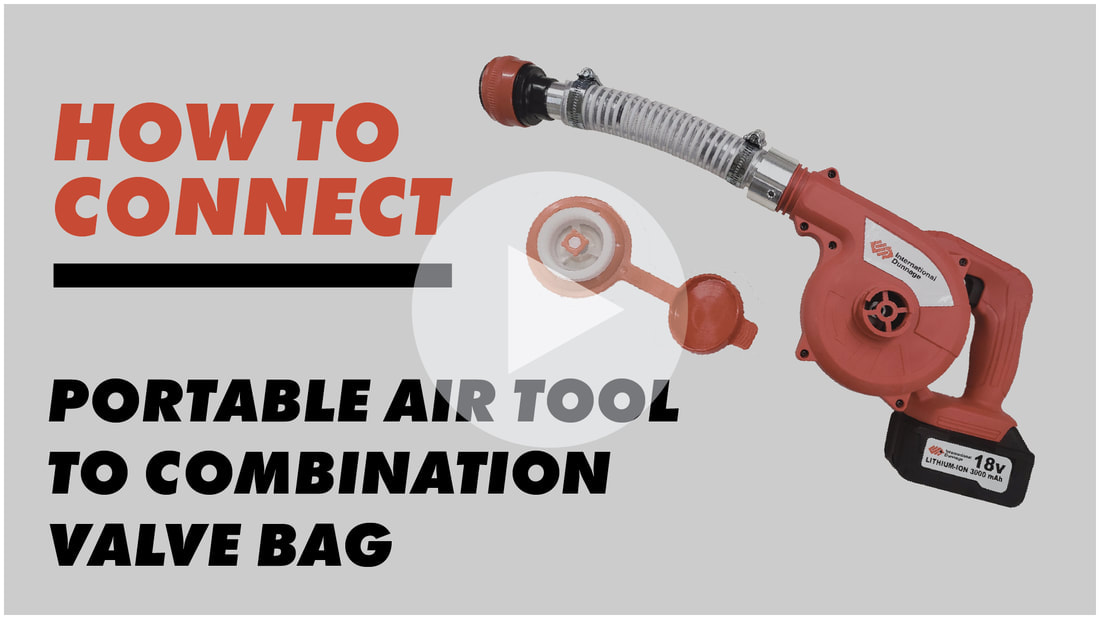 portable air tool, combination valve attachment, combination valve